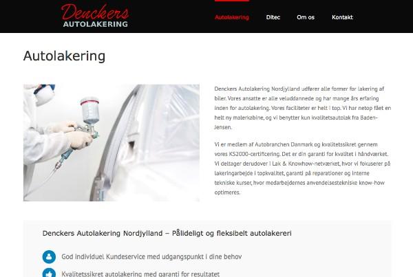 Denckers Autolakering portfolio-billede